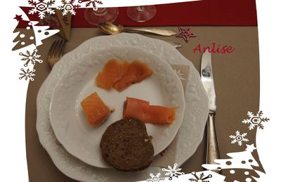 Noël (d'inspiration) scandinave - 1 dans l'assiette