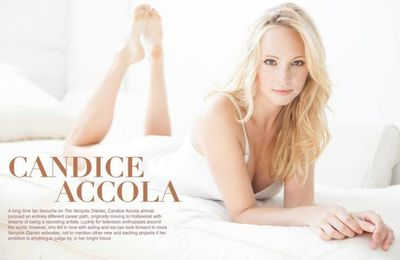 Candica Accola pour Destination
