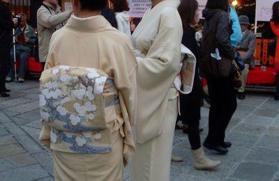 Des photos, un thème : Les kimonos au Japon