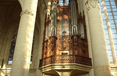 Organs in the basilica of Saint-Nicolas-de-Port