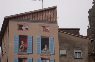 Trompe l'oeil paintings in Lunéville