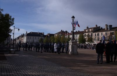 Celebration of WW2 liberation in Lunéville