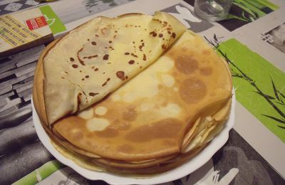 Crêpes from February