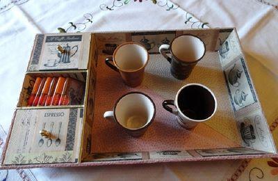 Plateau café gourmand