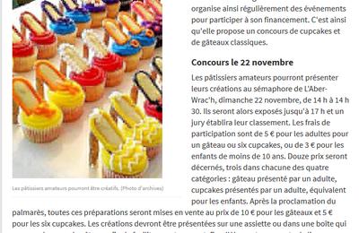 Concours de gâteaux le dimanche 22 Novembre