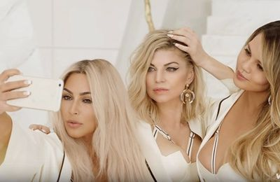 clip de fergie girlS powerS JUILLET 2016 !!!! video et photo a l'appui
