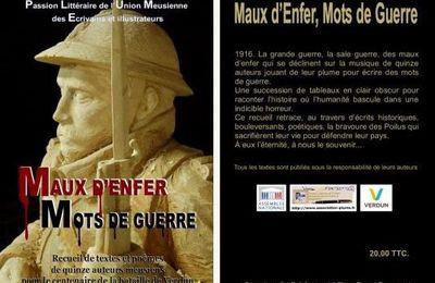 """""""Maux d'Enfer, Mots de Guerre"""", extraits et points de vente"""