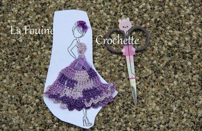La suite des mini robes au crochet.