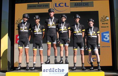 Les cadets et juniors au Tour de France