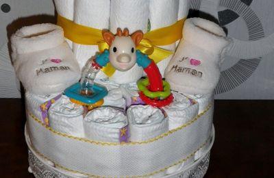 "Gâteau de couches ""Gabin"""