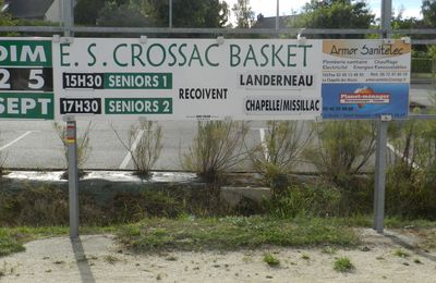 Crossac affiche basket .... Dimanche 1er match des Crossacaises en Nationale 3 ...