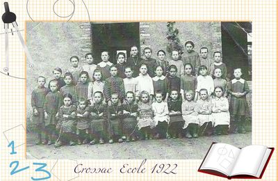 Crossac photo de classe 1922 .
