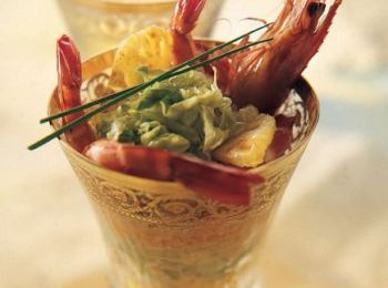 COCKTAIL DE GAMBAS A L'ANANAS