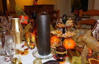 Ma Décoration de Table- Noël 2013 à Faliconnet