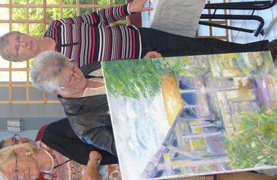 Clôture du salon de peinture