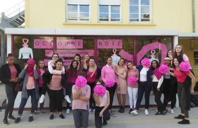 Octobre rose en commerce
