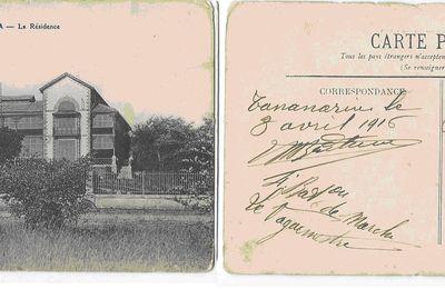 CARTE POSTALE 1916
