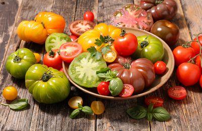 Faites rougir vos assiettes avec une farandole de tomates !