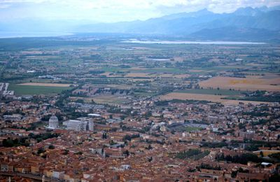 Pisa e Lago di Massaciuccoli (panoramica)