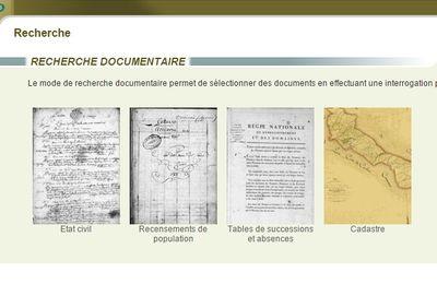 Les Archives Départementales donnent de nouveaux outils