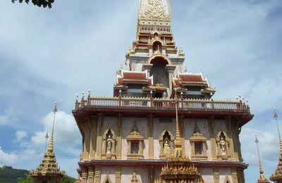 Escapade à Phuket - Le Temple de Wat Chalong