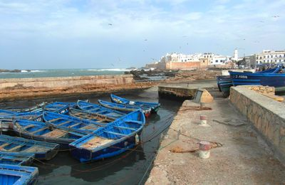 Essaouira, visite du Port et de la Medina