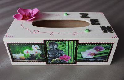 Boîte à mouchoirs zen