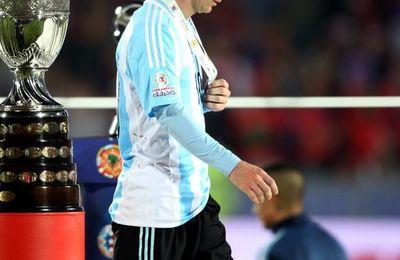 Ecoeuré, Messi veut arrêter la sélection nationale !