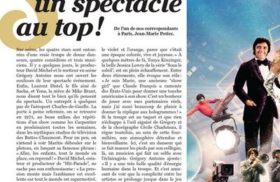 Soir Mag - Hit Parade : un spectacle au Top !