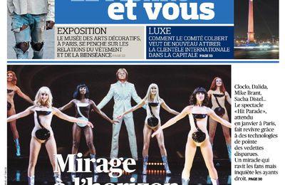 Hit Parade vu par les médias : Le Figaro - 8 décembre 2016