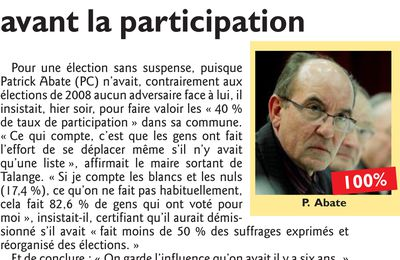 Elections Municipales 2014 - Talange