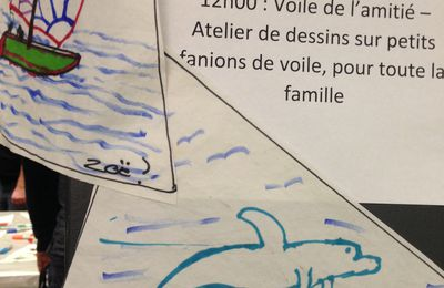 Résumé - Souffle Artistique au Salon du Bateau et des Sports Nautiques de Montréal, février 2016.
