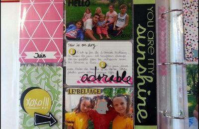 Project Life - Juin et Juillet 2013