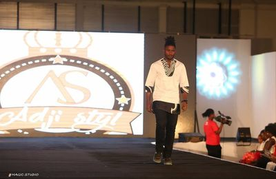 [Moreno Fashion Show : Adji Diallo présente sa collection « NOUR & AMINE »]