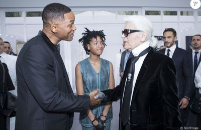 [Willow et Will Smith au défilé Chanel]