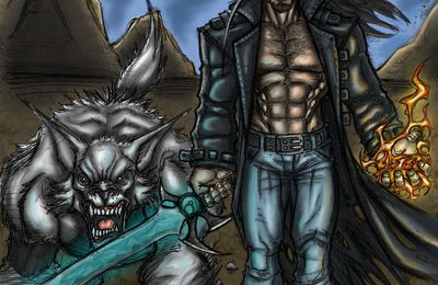 Un Kickstarter pour financer l'édition de The Wolfdragon de Simon Pothier