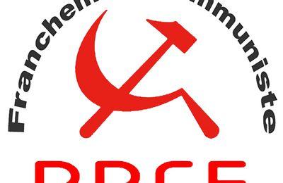 Elections législatives : communiqué du PRCF-38