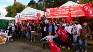 Grand succès du stand du PRCF à la fête de l'Humanité