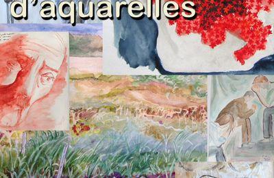 Exposition d'aquarelles du 9 au 20 octobre à Saint-Germain lès-Arpajon (91)