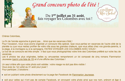 Grand concours !