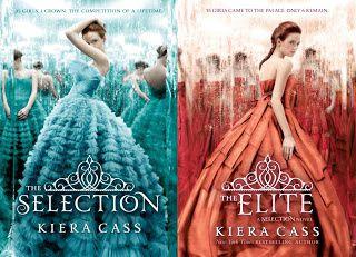 Saga La Sélection de Kiera Cass.