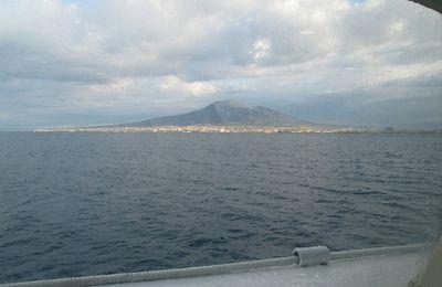 Voyage en Italie  : la baie de Naples, Capri, Pompéï.