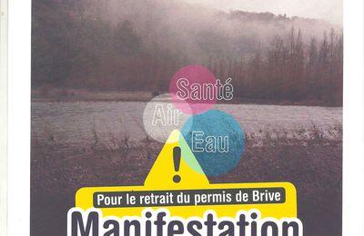 MANIF !!! : TOUS A BRIVE & SARLAT