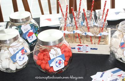 Mini sweet table! Vive la France!