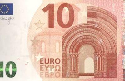 Νέα εισιτήριο 10€, nouveau billet de 10€ (θεά Ευρώπη)