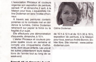 : article Ouest-Franceexpo