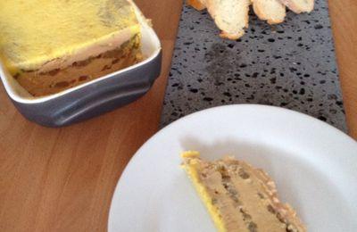 Terrine de foie gras aux poires et porto