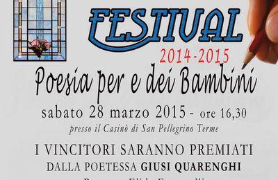 Sanpellegrino Festival - Poesia per e dei bambini 2014 2015