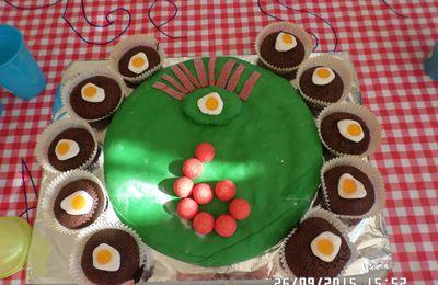 Anniversaire 6 ans monstres rigolos les gâteaux