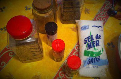 Les paniers gourmands de Noël 2016 - le sel aux épices